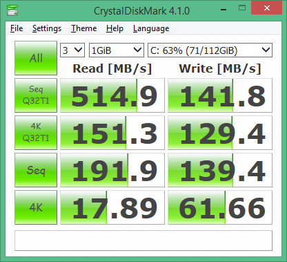 Crucial M500 120GB SSD SATA III