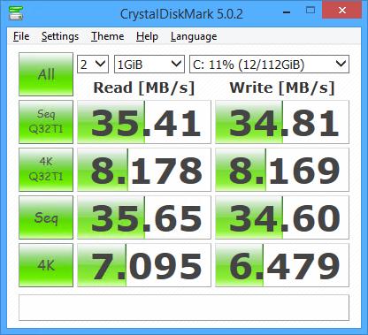 Crucial M500 120GB SSD USB2.0
