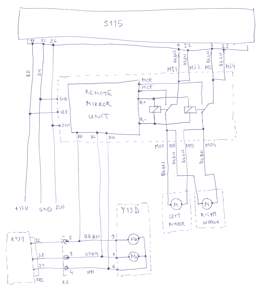PFM module schematics